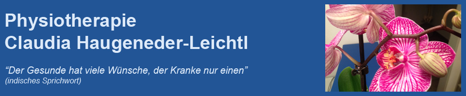 Physiotherapie Claudia Haugeneder-Leichtl
